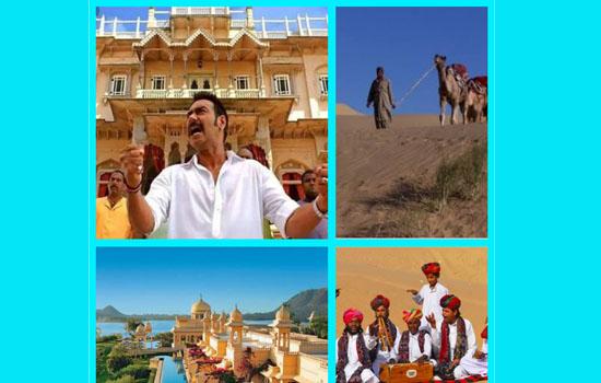 विश्व पर्यटन दिवस 27 सितम्बर पर विशेष सेल्यूलाइडपरबिखरते राजस्थानी रंग