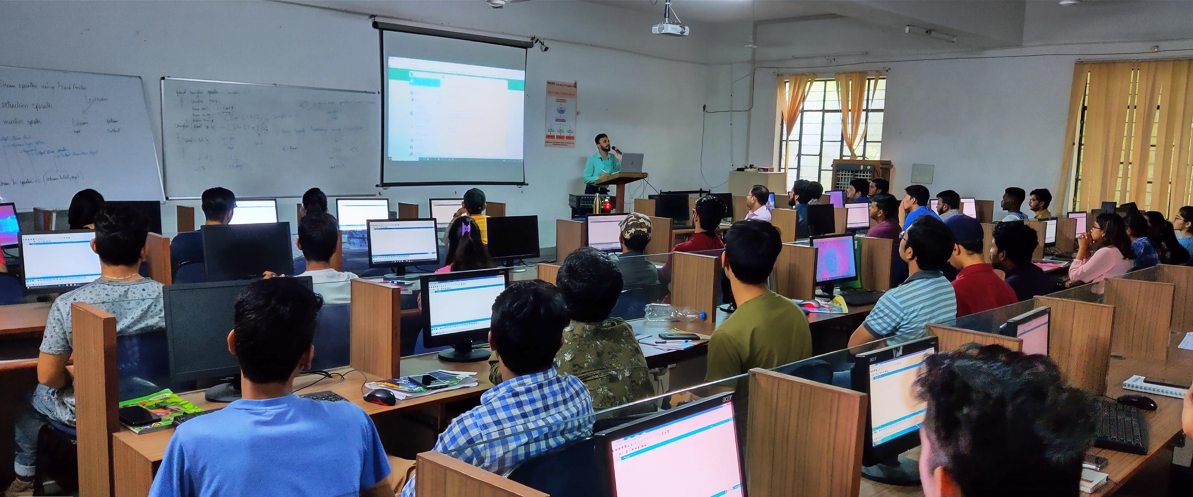 फैकल्टी ऑफ़ इंजीनियरिंग,एक दिवसीय कार्यशाला का आयोजन
