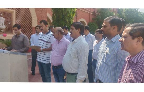 जोधपुर रेल मंड़ल पर स्वच्छ रेल स्वच्छ भारत अभियान
