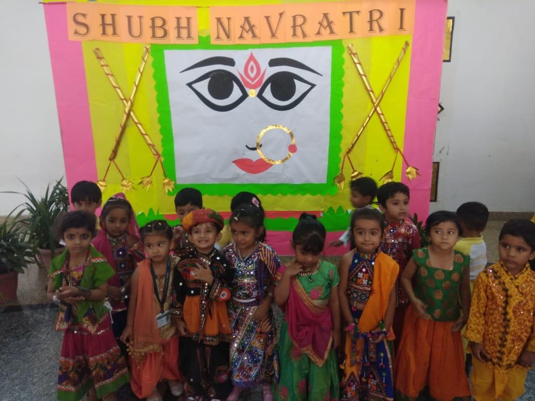 हर्शोल्लास से मनाया नवरात्रि उत्सव