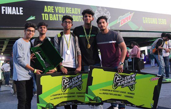 DEW ARENA, INDIA'S LARGEST GAMING CHAMPIONSHIPSBRINGS 1.5 MILLION GAMERS TOGETHER