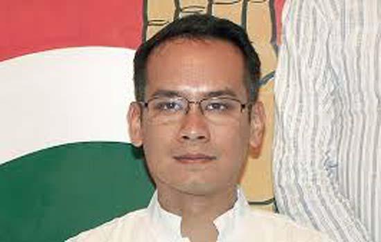 सिक्किम और मणिपुर का गौरव गोगोई को दिया प्रभार कांग्रेस ने