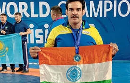 विश्व वेटरन कुश्ती में कांस्य जीता रणधीर सिंह ने