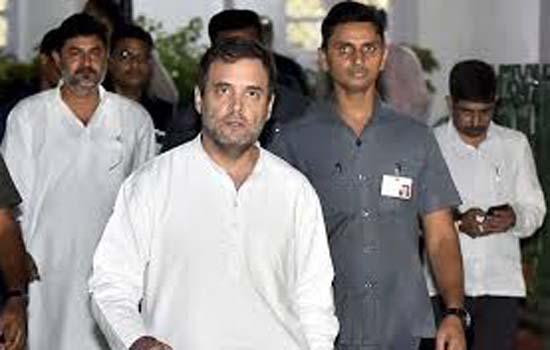 राहुल गांधी अमित शाह को हत्या का आरोपी कहने के मामले में कोर्ट में पेश हुए