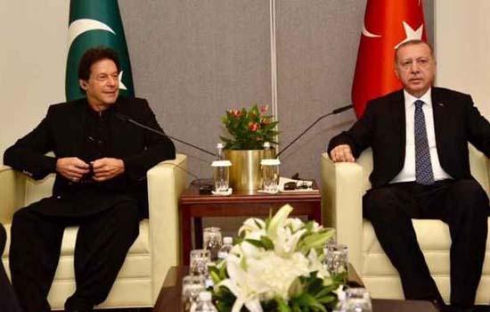 सीरिया पर तुर्की के हमले का किया समर्थन पाकिस्तान ने