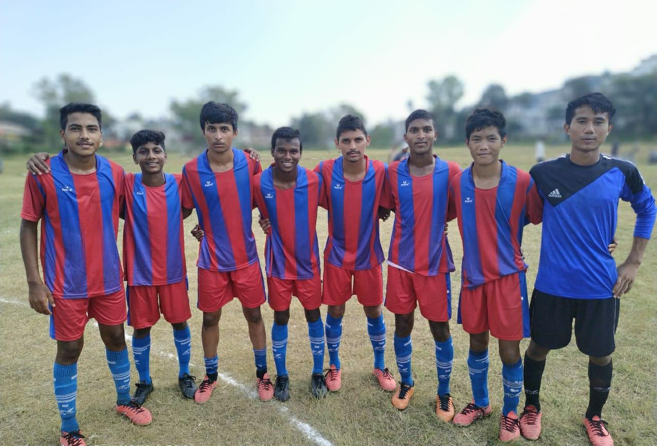 उदयपुर को यू-17 स्टेट चैम्पियन बनाने में जिंक फुटबाल अकादमी का अहम योगदान