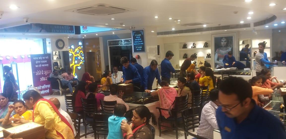 सोजतिया ज्वैलर्स के दीपावली पर खुलेगा संातवा ड्रा, मिलेगी कार