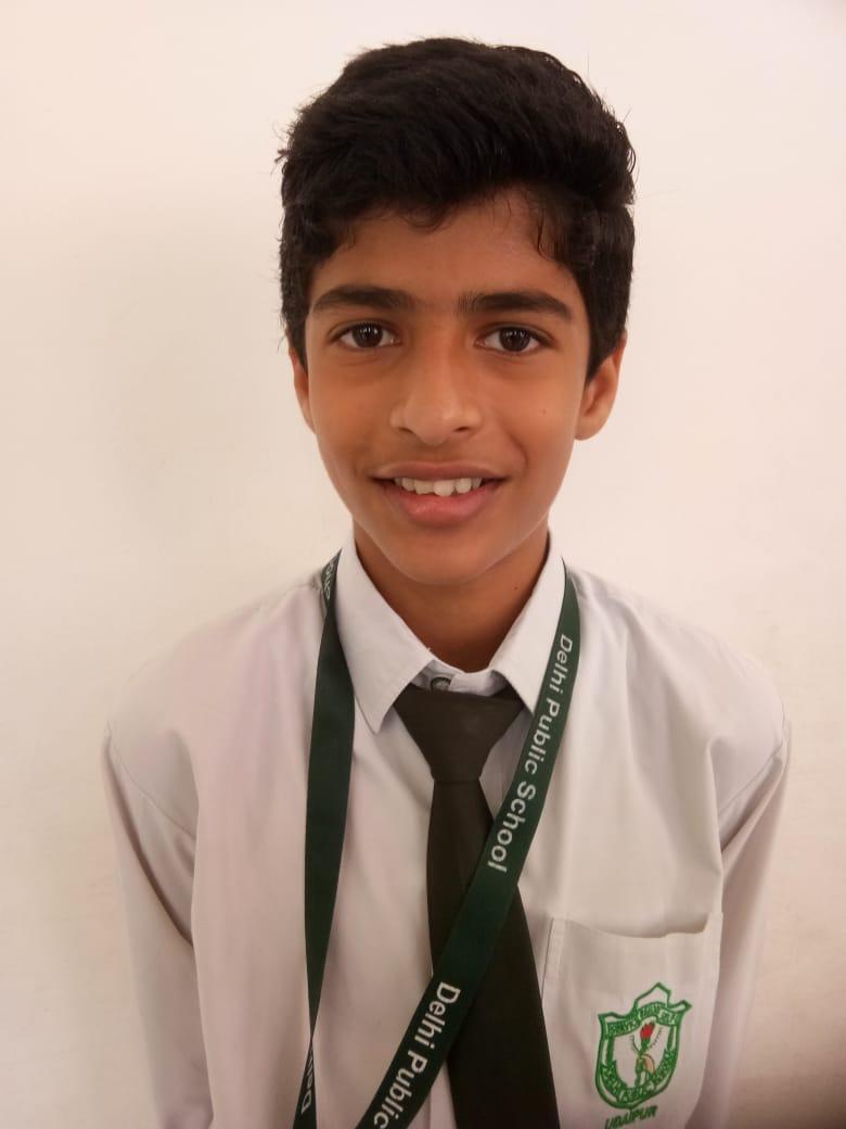 डीपीएस, उदयपुर के प्रणव को मिला अंतर्राश्ट्रीय संगीत  प्रतियोगिता में स्वर्ण पदक