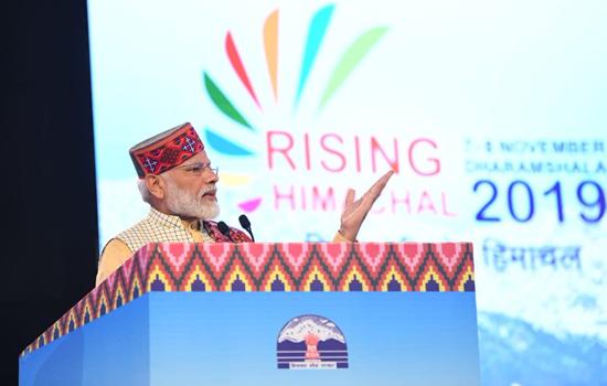 प्रधानमंत्री नरेन्द्र मोदी ने कहा--भारत अब निवेश के लिए सबसे अधिक पसंदीदा देशों में से एक