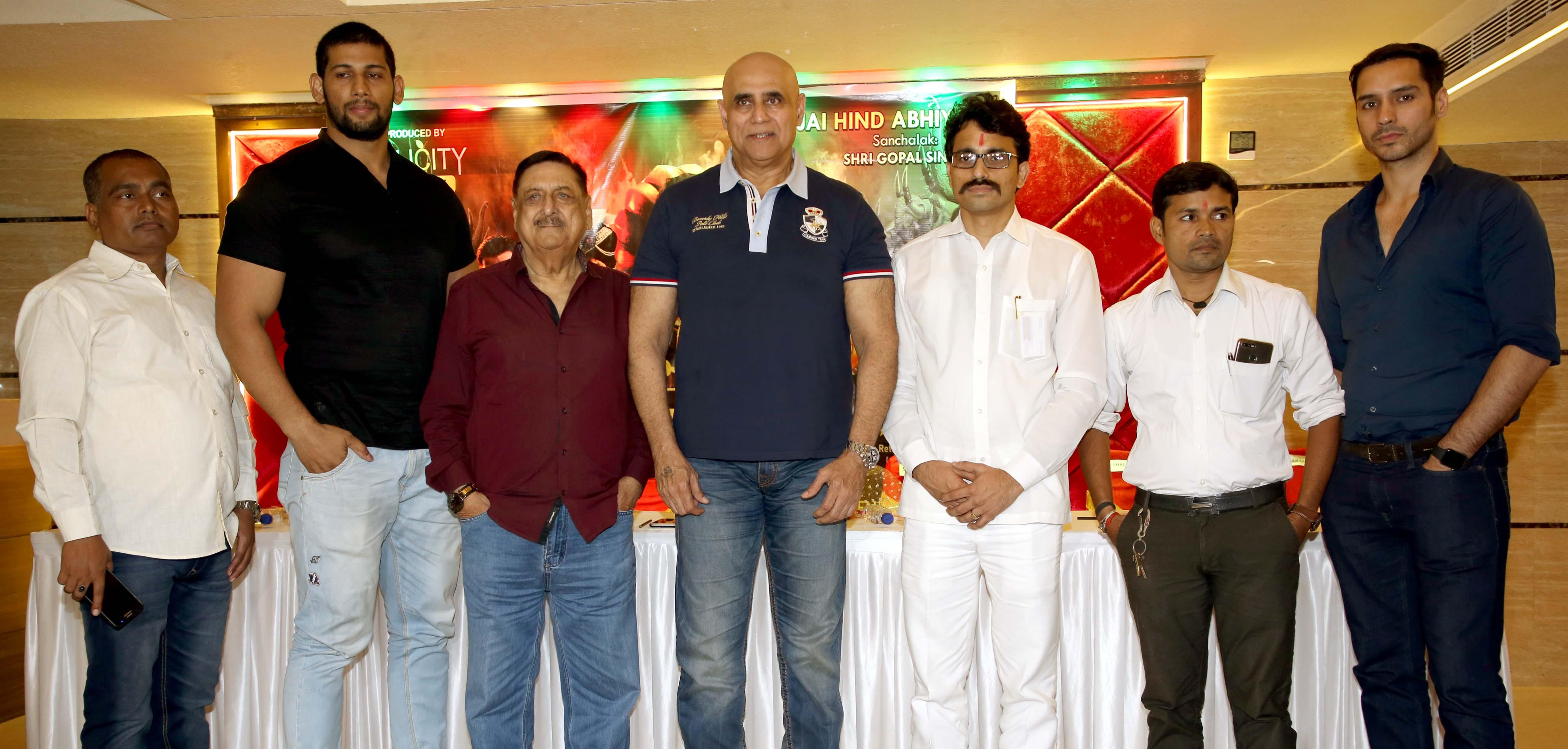 ......Attended Press meet of Mahabharat Play.