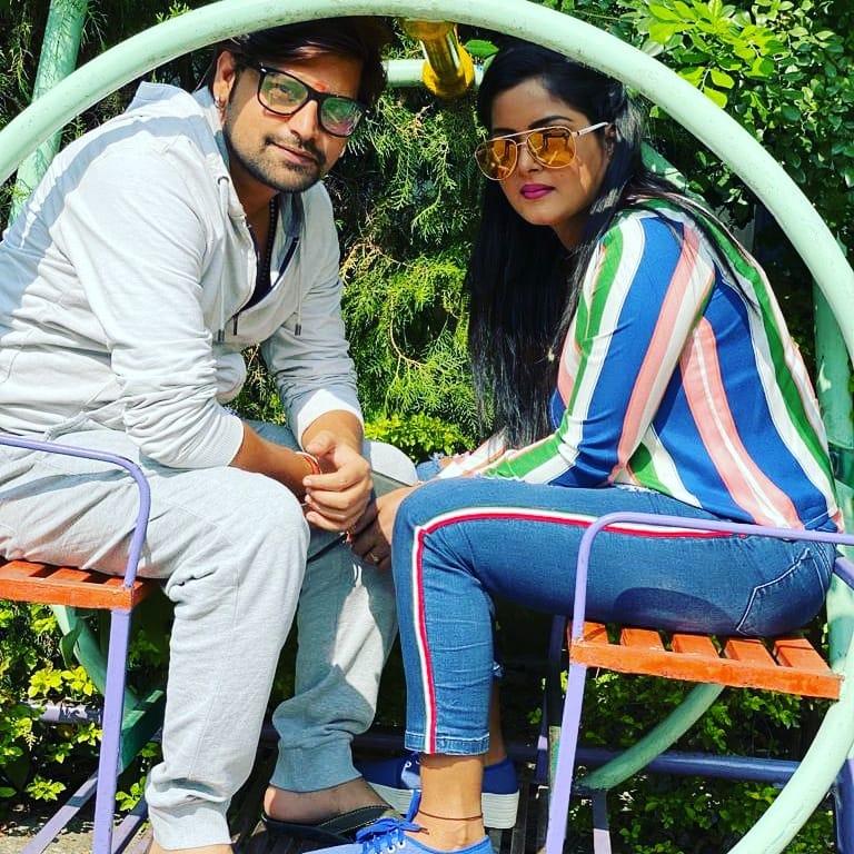 राकेश मिश्रा अंजना सिंह एक साथ फिल्म ''बदले की आग'' में