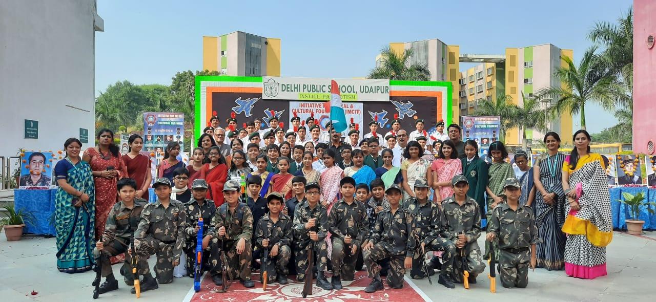 डीपीएस, उदयपुर में परमवीर चक्र विजेताओं के