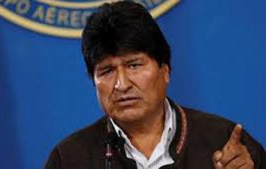 बोलीविया के पूर्व राष्ट्रपति इवो मोरालेस को देश में शरण दी मेक्सिको ने