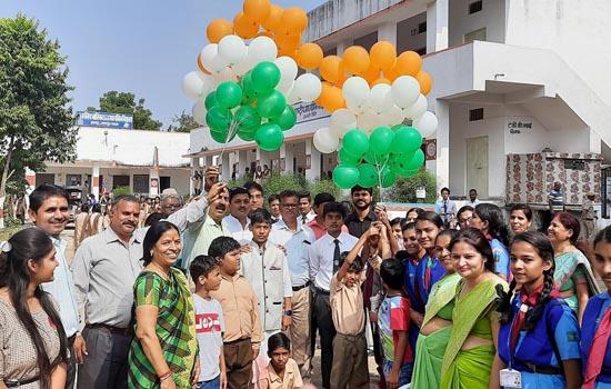 जिले भर में विविध आयोजनों के साथ मनाया चाचा नेहरू का जन्मदिवस