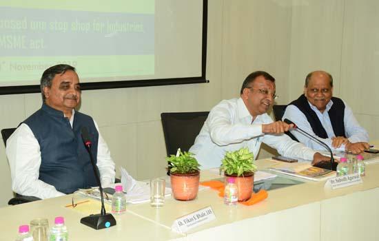 प्रयासों और भावों की दृष्टि से राज्य सरकार औद्योगिक विकास हेतु पूर्णतया कटिबद्ध : डॉ. सुबोध अग्रवाल