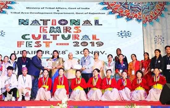 जनजाति प्रतिभाओं को रास आया राष्ट्रीय संगीत एवं नृत्य प्रतियोगिता का महाकुंभ