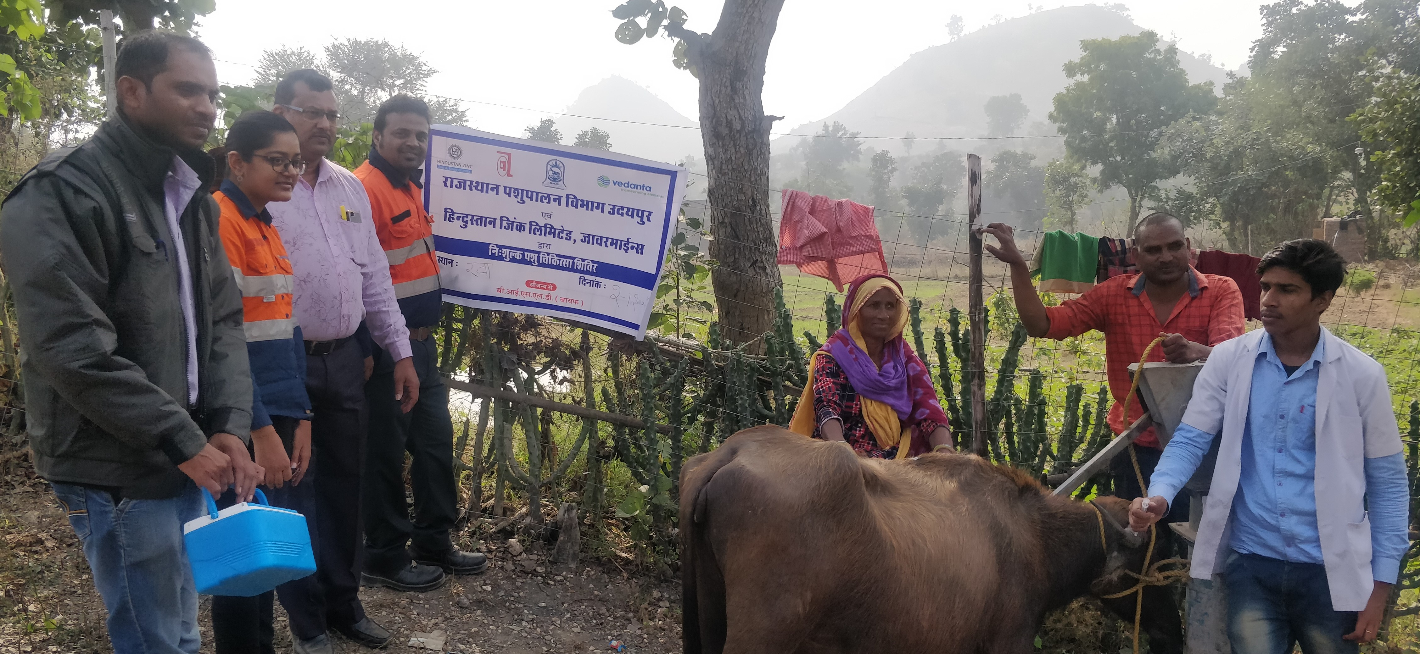 जिंक द्वारा ४ से १४ दिसंबर तक पशु स्वास्थ शिविरों का आयोजन