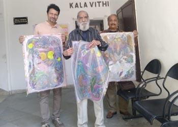 बागोर की हवेली में पारदर्शी कलाकृतियों की प्रदर्शनी शुरू