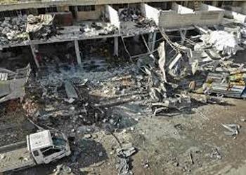 सीरिया में बागियों के कब्जे वाले शहर पर हमला