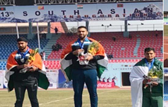 नेपाल में दक्षिण एशियाई खेलों में ट्रैक एंड फील्ड प्रतिस्पर्धाओं में भारत का दबदबा