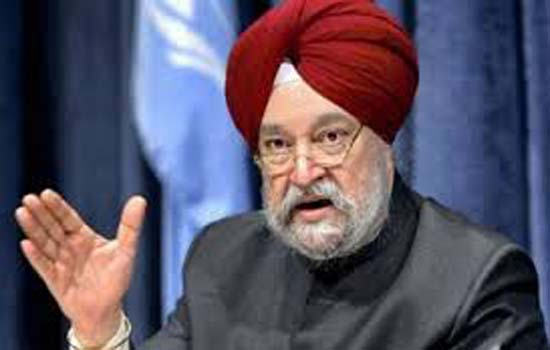 प्रधानमंत्री आवास योजना में 93 लाख से अधिक मकानों की स्वीकृति दी गई-हरदीप सिंह