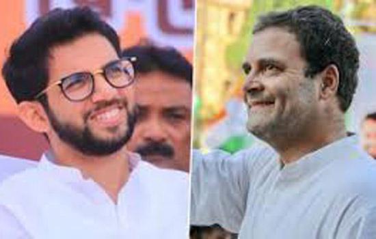आदित्य ठाकरे मंत्री बनने के बाद पहली बार राहुल से मिले