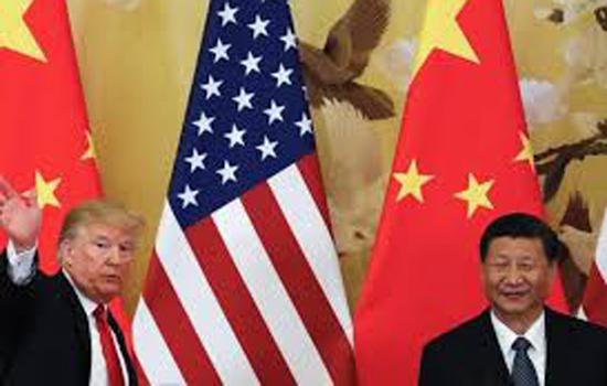 अमरीका और चीन ने व्यापार समझौते के पहले चरण पर हस्ताक्षर किये