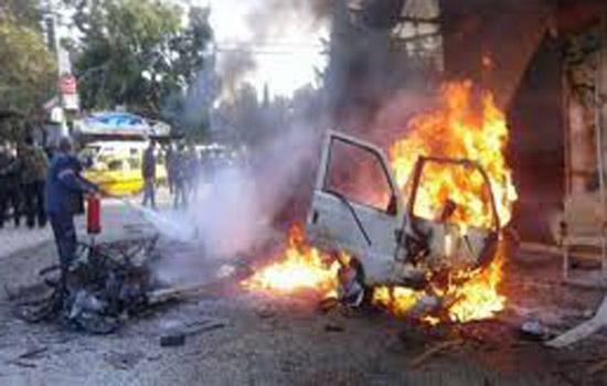 उत्तरी सीरिया में हुआ कार बम धमाका