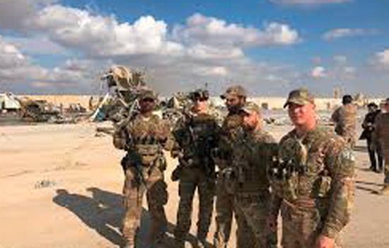 ईरान के हमले में 11 अमेरिकी सैनिक घायल