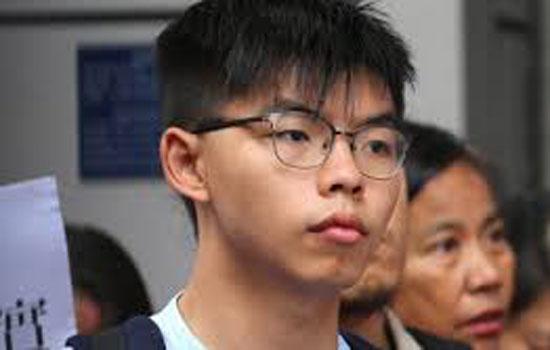 हांग कांग में लोकतंत्र समर्थक कार्यकर्ता को पुलिस ने किया गिरफ्तार