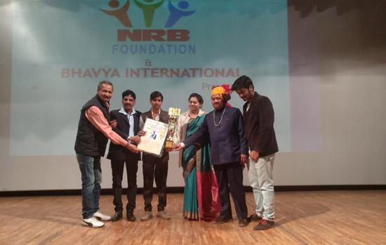 रणजीत सिंह चारण ''विविधता में एकता राष्ट्रीय सम्मान २०२०'' से सम्मानित