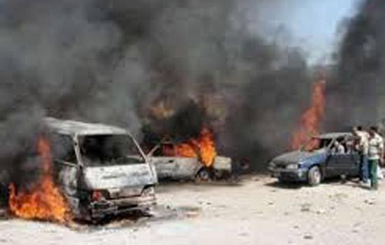 सीरिया में कार बम विस्फोट में सात लोगों की मौत