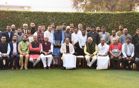 शाइन इंडिया के नेत्रदान के कार्यों की उपराष्ट्रपति जी ने की सराहना