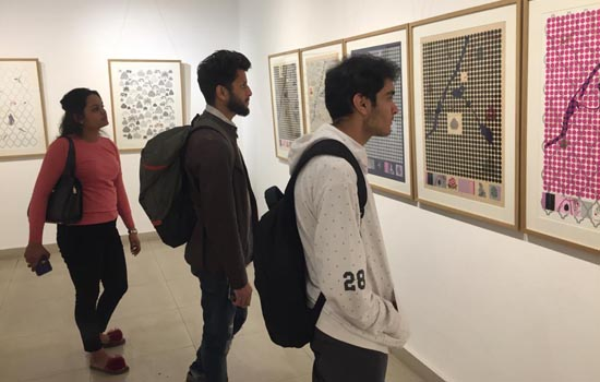 डॉ. मदन के चित्रों की प्रदर्शनी दिल्ली में सम्पन्न