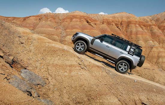 THE TIME TO OWN AN ICON IS NOW! LAND ROVER BEGINS BOOKINGS OF THE NEW DEFENDER FROM ₹ 69.99 LAKH