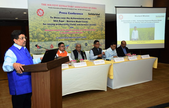 SEA Solidaridad Mustard Mission To Make India Self-sufficient in Edible Oil