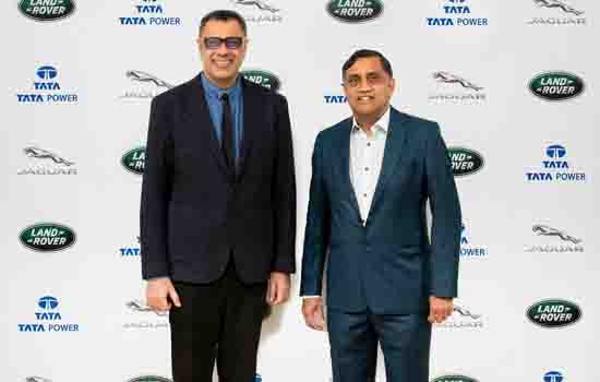 Jaguar Land Rover India and Tata Power announce partnership for Electric vehicle charging infrastructure