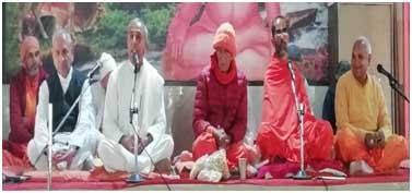 सुख प्राप्ति के लिये गृहस्थियों को बड़े बडे़ यज्ञ करने चाहियें: स्वामी चित्तेश्वरानन्द सरस्वती