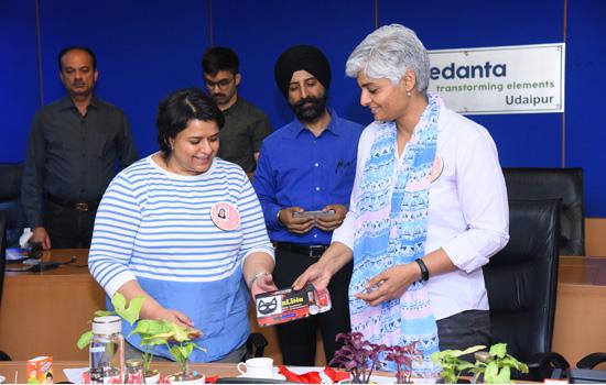 Hindustan Zinc celebrates a unique e-Women's Day