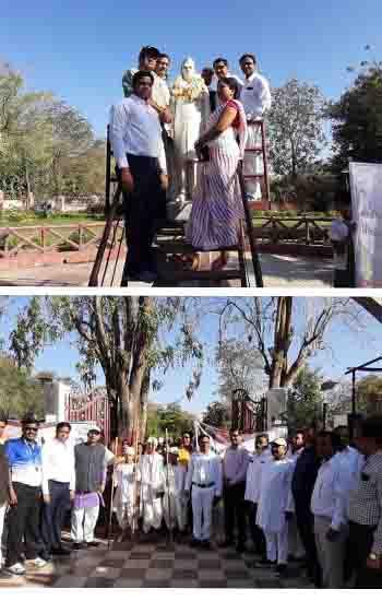 दांडी यात्रा की 90 वीं वर्षगांठ के अवसर पर  रैली का आयोजन