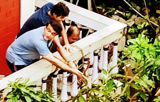 अम्फान तूफान में BCCI अध्यक्ष सौरव गांगुली के घर में गिरा पेड़