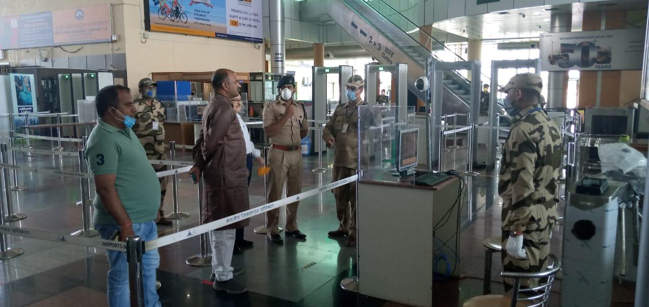 25 से उदयपुर एयरपोर्ट पुन: प्रारंभ