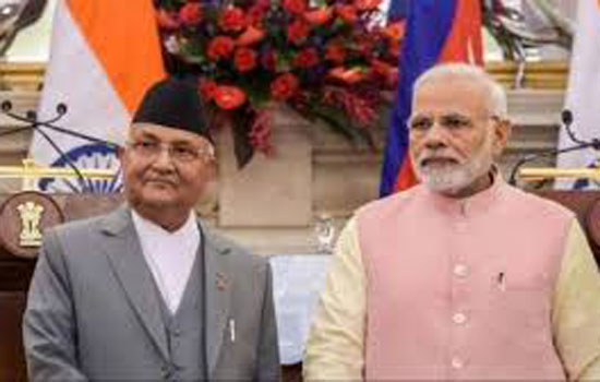 सीमा विवाद के हल के लिये नेपाल से बातचीत के लिए भारत तैयार