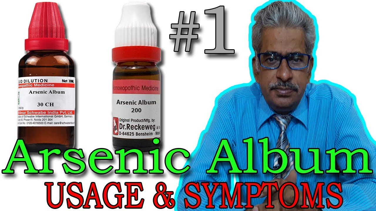 Arsenic alb 30 homeopathy drug delivery