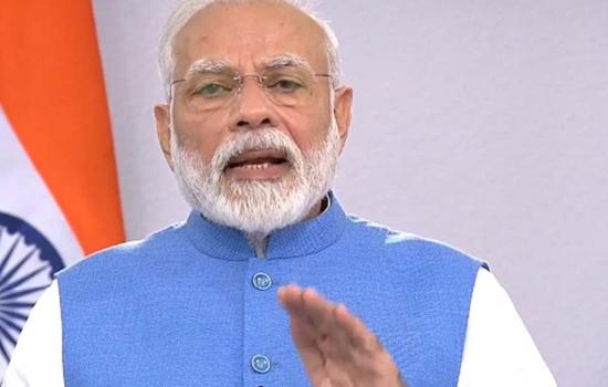 प्रधानमंत्री ने कोविड-19 को फैलने से रोकने के लिए दो गज की दूरी बनाये रखने की अपील की