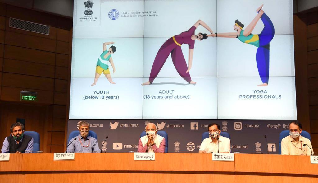 डिजिटल प्लेटफार्मों के माध्यम से मनाया जायेगा अंतर राष्ट्रीय योग दिवस-2020 का वैश्विक उत्सव