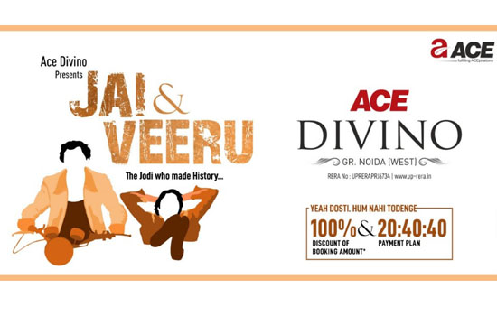 Ace Group Presents a Unique Jai & Veeru Jodi Offer to Win Over Homebuyers for its New Project