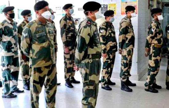 BSF जवानों में नहीं थम रहा संक्रमण का खतरा