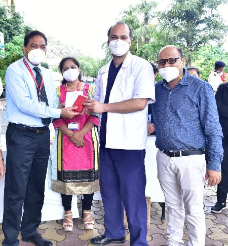 गीतांजली मेडिकल कॉलेज एवं हॉस्पिटल, उदयपुर में डॉक्टर्स डे पर आयोजन