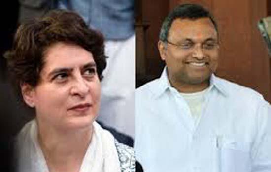 प्रियंका गांधी वाड्रा बनें UP में CM कैंडिडेट-कार्ति चिदंबरम